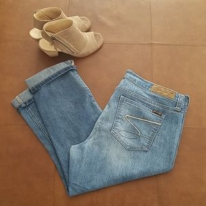 Seven cropped jeans